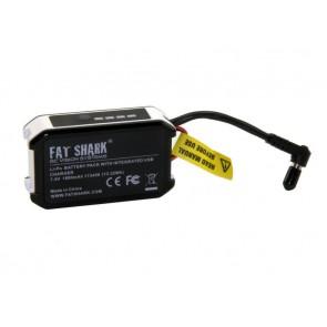 Batterie Fatshark avec indicateur LED et charge USB