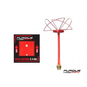 Furious FPV - Circular Antenna RHCP + PATCH 2.4 GHz - SMA