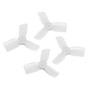 HQ T1.9x3x3 Polycarbonate Durable Prop (Blanc) (2x CW, 2x CCW)