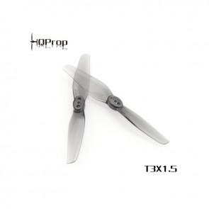 HQ T3X1.5 Polycarbonate Durable Prop (Gris) (2x CW, 2x CCW)