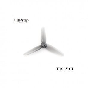 HQ T3X1.5X3 Polycarbonate Durable Prop (Gris) (2x CW, 2x CCW)