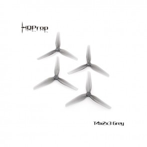 HQProp Durable T4X2X3 PC Gris (2CW+2CCW)