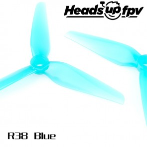 HQProp R38 HEADSUP RACING Blue (4pcs)