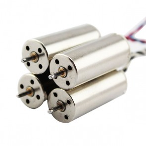 Set moteurs de rechange pour Hubsan X4 FPV H107D