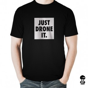 T-Shirt Just Drone IT - Noir