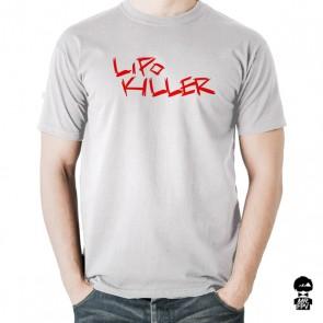 T-Shirt LiPo Killer - Blanc