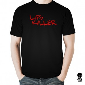T-Shirt LiPo Killer - Noir/Rouge