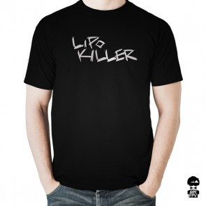 T-Shirt LiPo Killer - Noir