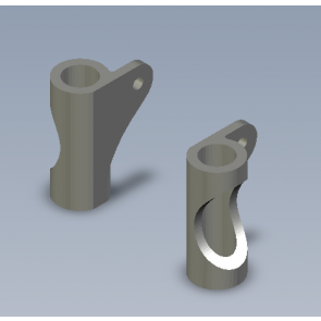 Support Cam mout TPU - Squirt V2 ou Geyser - 3D Parts