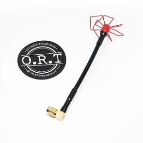 ORT Goggles Edition Antenna 5.8 GHz - Rouge