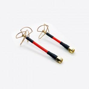 Set d'antennes TX/RX Cloverleaf 5.8 Ghz – RPSMA