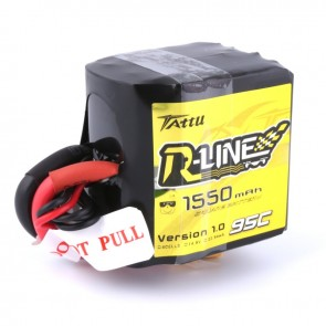 Batterie Lipo Tattu R-Line 1550mAh 95C 4S1P Square lipo battery pack