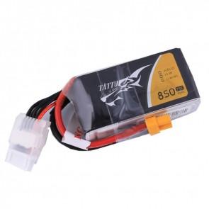 Batterie lipo 4S 850 mAh 75C - Tattu