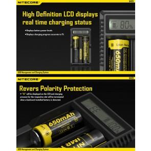 Chargeur UM20 Nitecore USB - Li ion, IMR