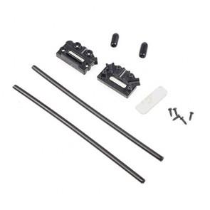 Support V d'antenne pour récepteur - Noir