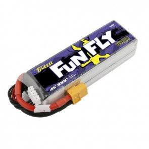 Batterie Lipo Tattu Funfly 1800mAh 14.8V 100C 4S - XT60