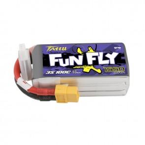 Batterie Lipo Tattu Funfly 1550mAh 11.1V 100C 3S - XT60