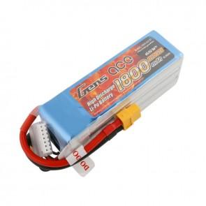 Batterie Lipo GensAce 1800mAh 22.2V 45C 6S - XT60