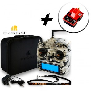 FrSky Taranis X9D Plus Special Edition - Camouflage + EVA BAG