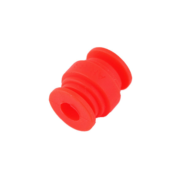 4 dampers type ZMR en silicone rouge