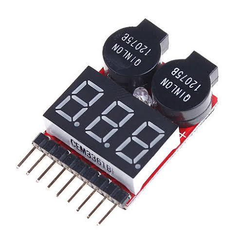 Buzzer et contrôleur de tension LiPo 1S-8S