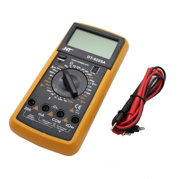 Multimètre LCD Professionnel