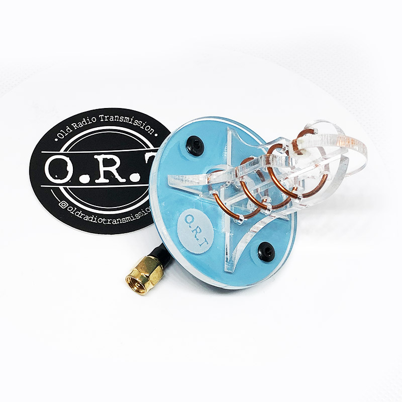 ORT Helical 3 turn 5.8 GHz 7dbi - Bleu