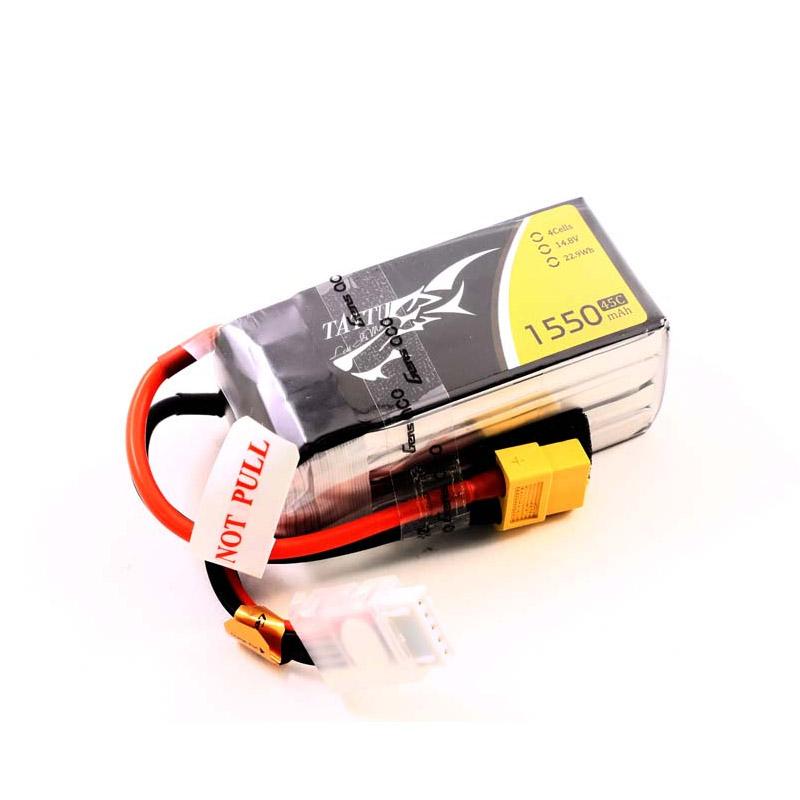 Batterie lipo 4S 1550 mAh 75C - Tattu