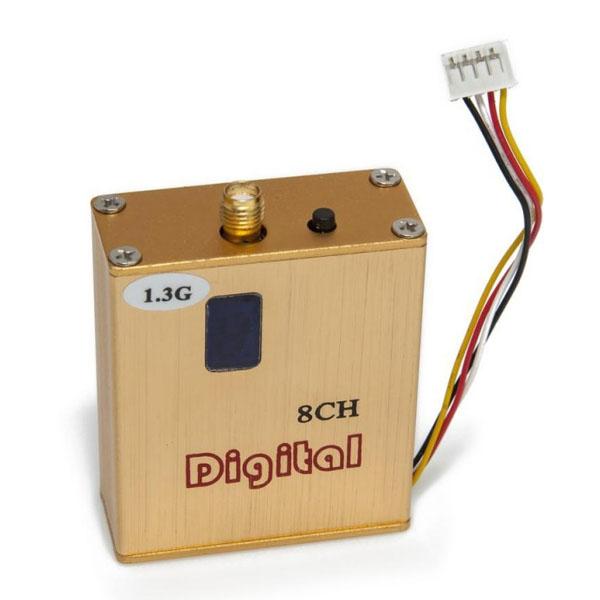 Emetteur vidéo Long Range 1.2/1.3Ghz 800MW 8CH